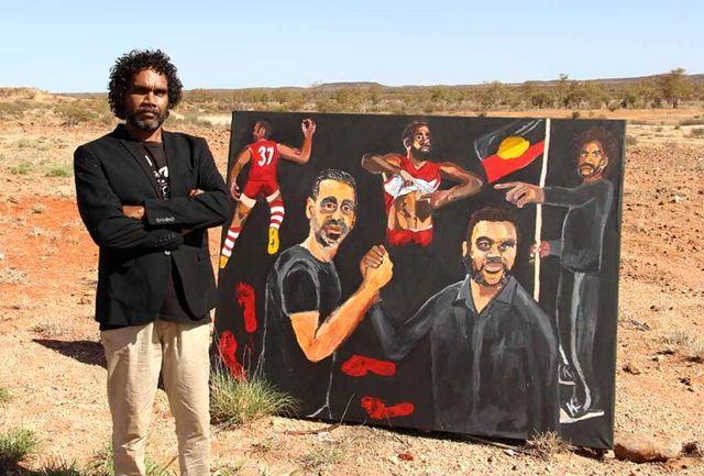 هنر استرالیا به دست بومیان آن  رسید