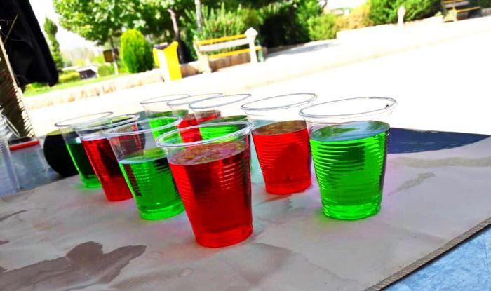 حتی با یک لیوان شربت رنگی می توان جوانان را عاشق حسین(ع) کرد