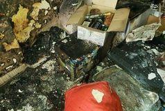 انفجار مواد محترقه در قزوین دو مصدوم برجای گذاشت