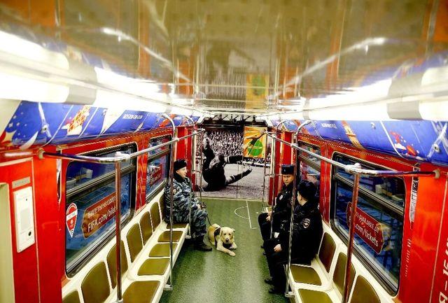 قطارهای برای تردد  هواداران در مسکو رایگان شد