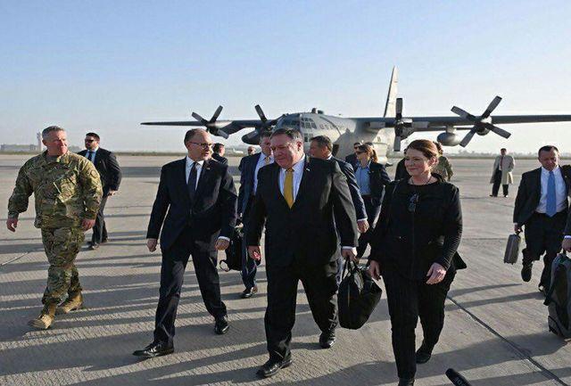 سفر مخفیانه پمپئو به عراق!