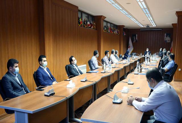 برگزاری جلسه رییس فدراسیون تکواندو با مسئولین کمیتههای ستادی