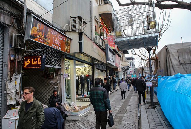 نصب تندیس آتش نشانان در چهارراه استانبول