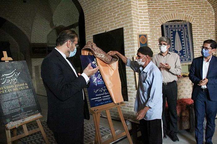 پوستر جشنواره ملی زیلوی برتر در میبد رونمایی شد
