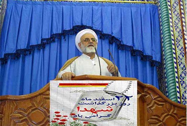 شهیدان نگین های درخشان و نورانی ملت ایران هستند