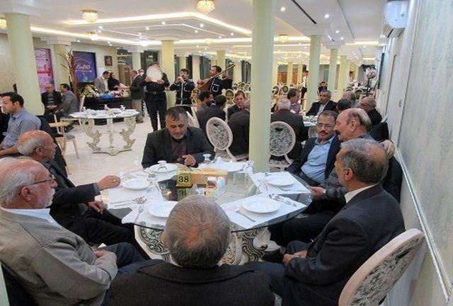 تکریم  بازنشستگان و خانواده فرهنگ و ارشاد اسلامی استان زنجان