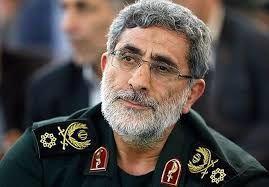 قابی دیدنی از سردار قاآنی در محاصره 14 شهید+ببینید