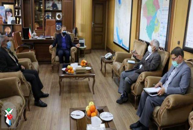 معاون بنیاد شهید کشور با استاندار زنجان دیدار کرد