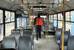 ضدعفونی شدن تمامی ناوگان اتوبوس شهری ارومیه