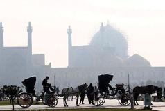 آلودگی هوا به اصفهان بازگشت