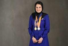 کسب اولین سهمیه المپیک کاروان ایران، توسط نجمه خدمتی برند خراسان جنوبی