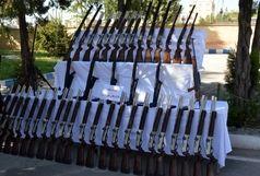 کشف 128قبضه سلاح شکاری قاچاق