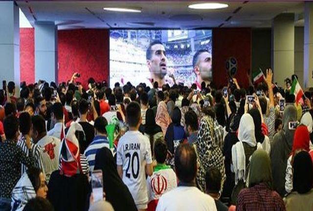 پر تماشاگرترین سینمای شنبه صبح تهران/نمایش بازی پرسپولیس-کاشیما آنتلرز