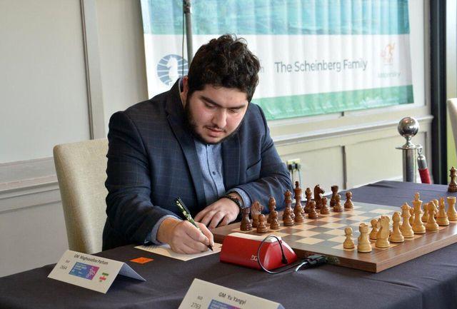 مقصودلو قهرمان شطرنج ایران شد