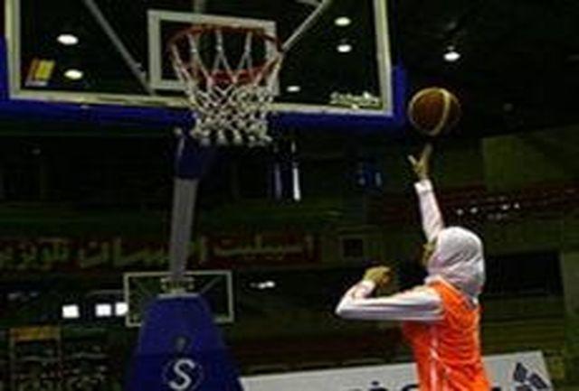 برتری مقتدرانه هیات بسکتبال مشهد در دور رفت رقابتها