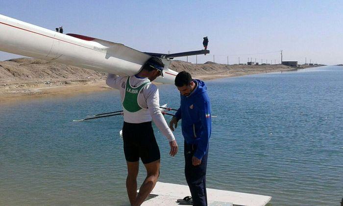 دومی و سومی قایقرانهای ایران در رقابتهای آسیایی