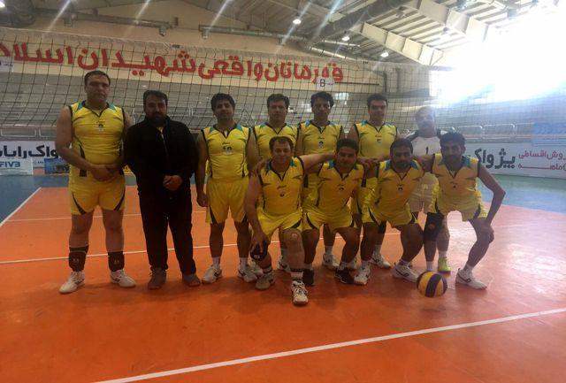 اعزام تیم والیبال اداره کل ورزش و جوانان سیستان و بلوچستان به رقابت های کشوری