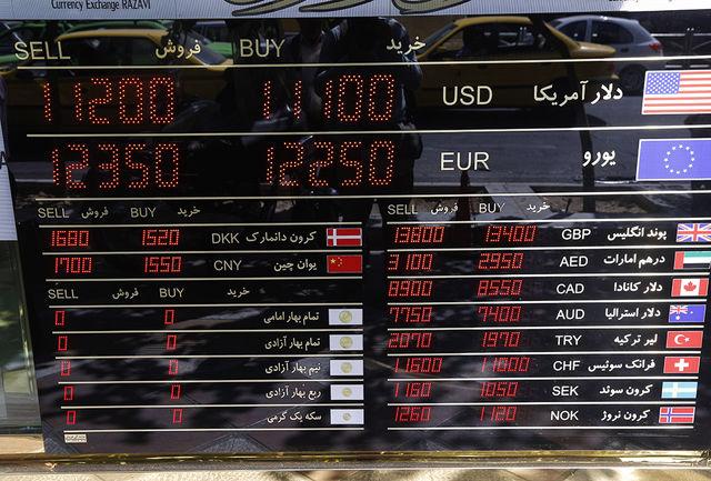 قیمت دلار و یورو امروز 7 اردیبهشت