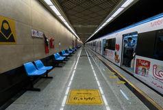 اقدام به خودکشی فردی در ایستگاه مترو میدان ولیعصر تهران + عکس