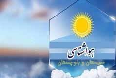 بارش های پراکنده سیستان و بلوچستان را فرا می گیرد