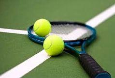 تنیسور قم در جایگاه دوم برترینهای تنیس ایران