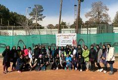 موفقیت بانوان خراسان جنوبی در آزمون دوره مربیگری تنیس