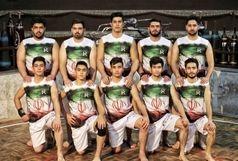 تیم عمران پوش کردستان در مسابقات لیگ برتر پهلوانی و زورخانه ای شرکت می کند