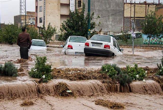 مسدود شدن جاده چرام-یاسوج در کهکیلویه و بویر احمد
