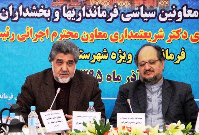 استان تهران مقام اول اقتصاد مقاومتی در بخش کشاورزی را دارد
