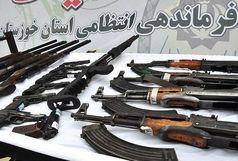 اعضای باند قاچاق اسلحه در خوزستان دستگیر شدند