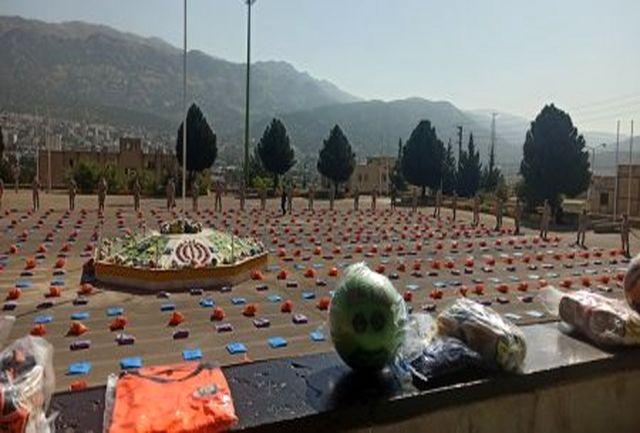 ۹ هزار بسته ورزشی بین دانش آموزان محروم کهگیلویه و بویراحمد توزیع شد