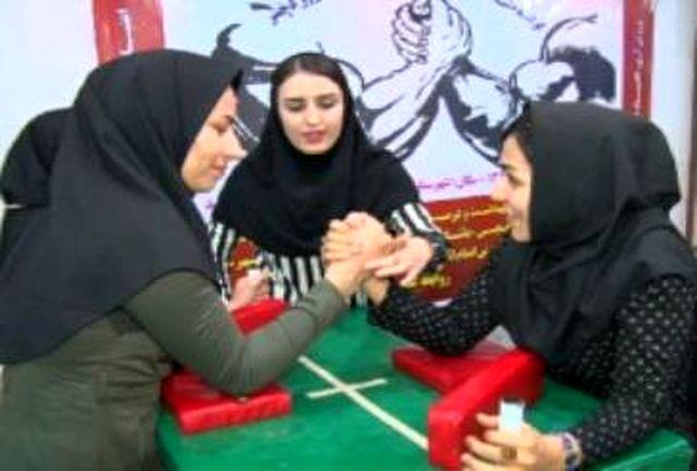 عناوین درخشان تیم مچ اندازی بانوان شهرقدسی در مسابقات کشوری
