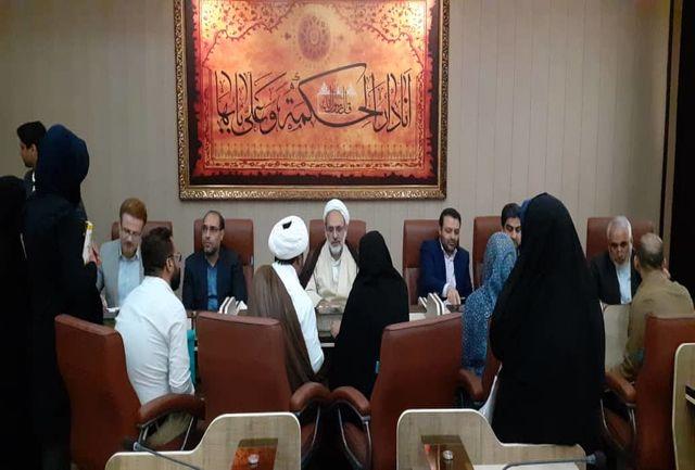 دیدار مردمی رئیس کل دادگستری استان هرمزگان با 83 نفر از مراجعین دستگاه قضایی
