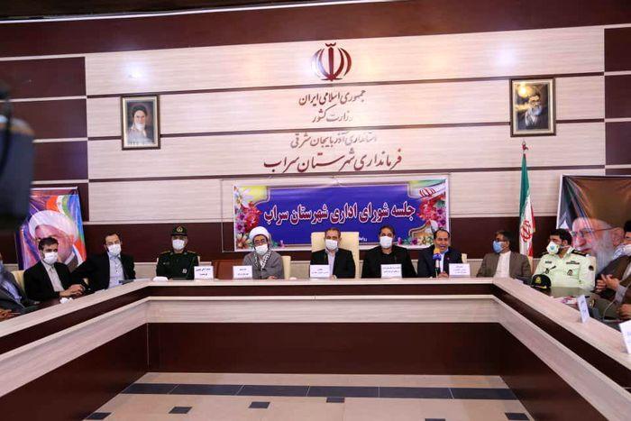 فرماندار جدید شهرستان سراب معرفی شد