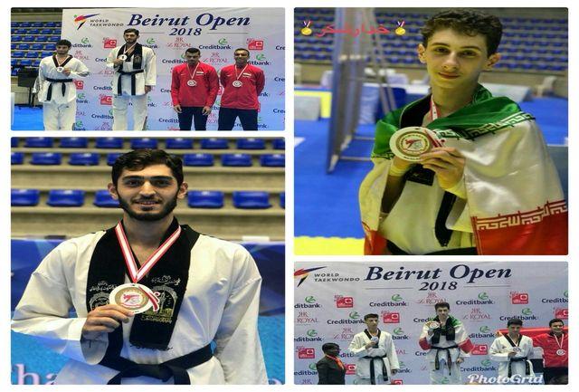 با کسب 2 نشان درخشان طلا: تکواندوکاران جنوبغرب در تورنمنت بینالمللی - لبنان افتخارآفرینی کردند