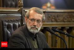 تبریک لاریجانی به رییس مجلس یازدهم