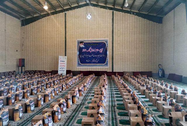توزیع هزار و ۲۰۰ بسته معیشتی در حسن آباد