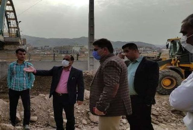 آغاز عملیات طراحی و شروع پروژه احداث پارک آزادگان پلدختر پس از تخریب سیل 98