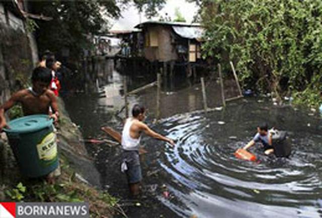 شمار قربانیان سیل فیلیپین از مرز 1500 نفر گذشت