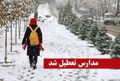 باران شدید بیشتر مدارس استان کرمان را به تعطیلی کشاند