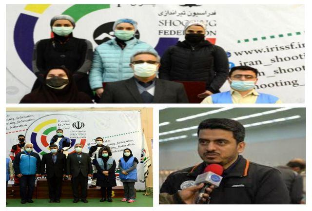 پیام تبریک  مدیرکل ورزش و جوانان استان به مناسبت قهرمانی تیراندازان استان