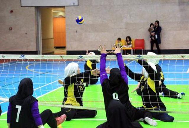 برگزاری لیگ برتر والیبالنشسته بانوان