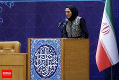 سخنان الهه منصوریان در ضیافت افطاری رییس جمهور/ببینید