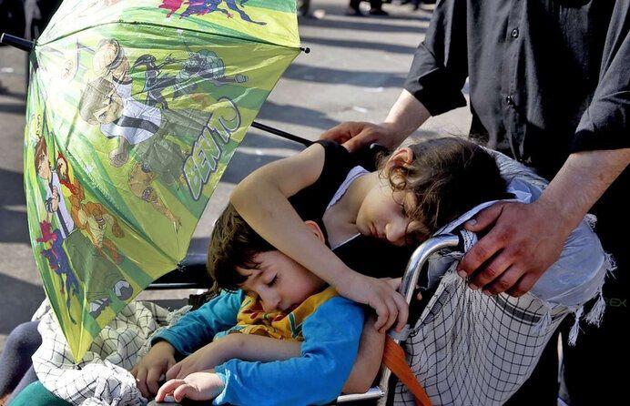 چگونه با آرامش خاطر در کنار کودکان به سفر اربعین برویم؟