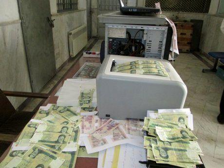 جاعلان اسکناس ها در دام پلیس گرفتار شدند