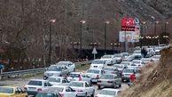 ترافیک در آزادراه قزوین – کرج سنگین است