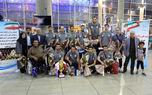 تیم ملی والیبال نشسته به تهران بازگشت