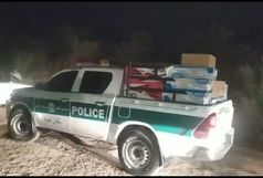 دستگیری سارقان مسلح جاده ایی کالاهای خانگی/کشف بیش از 2 میلیارد و 600 میلیون انواع کالای سرقتی خانگی در آبادان