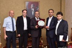 مناسبات تجاری مناطق آزاد ماکو و مرسین ترکیه گسترش می یابد