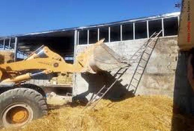 تخریب شدن سوله ۵۰۰ متری یکی از مسئولان در شهریار